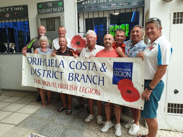 The day was rounded off back at the Alehouse where the members showed their support for the Royal British Legion Poppy Appeal