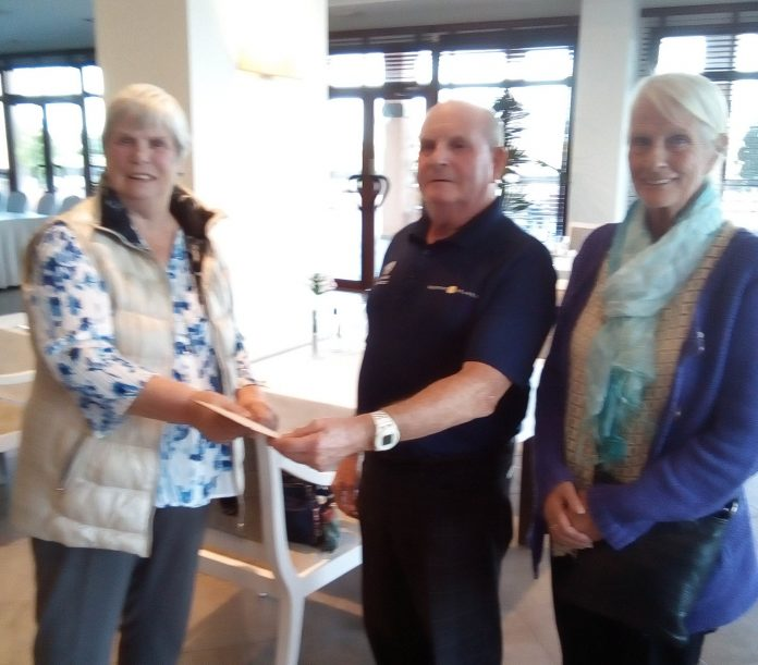 San Javier Golf Society give HELP a boost.