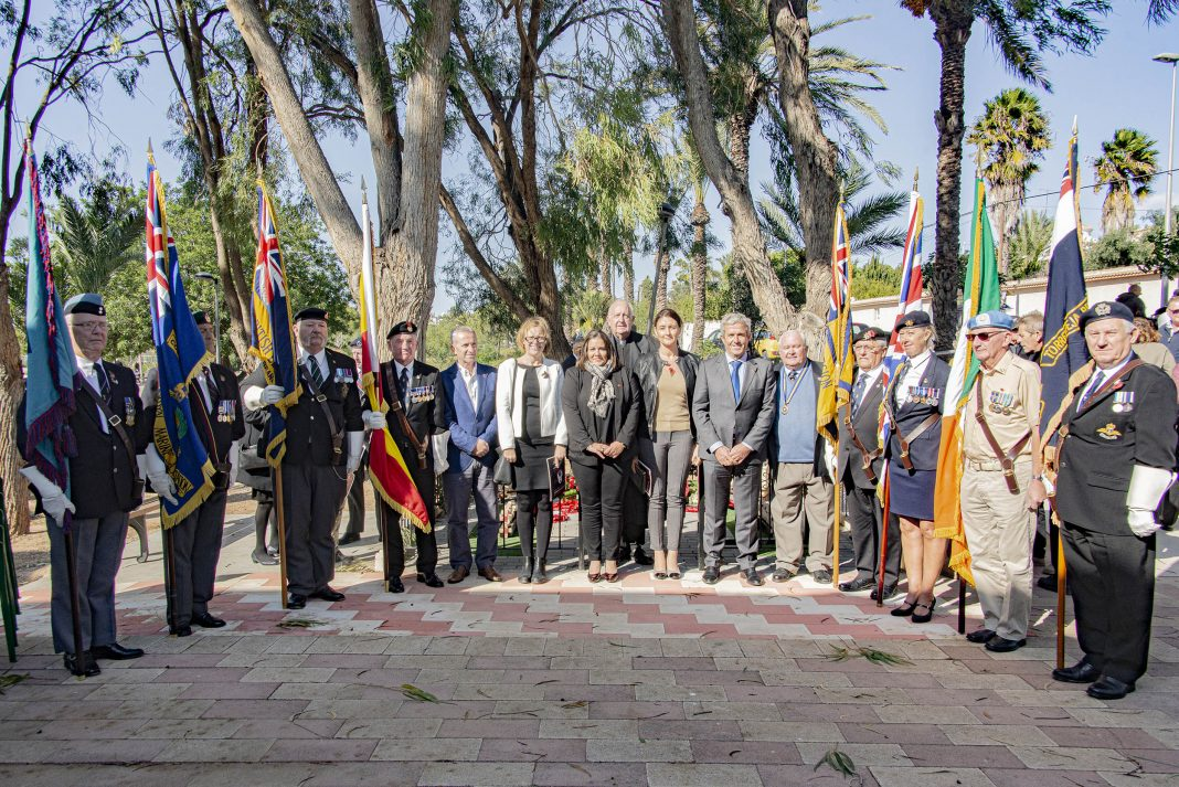 Standard Bearers with guests