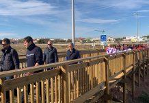 New pedestrian crossing over N-332 in Pilar de la Horadada