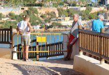 Cabo Roig coastal walk remains a danger to pedestrians