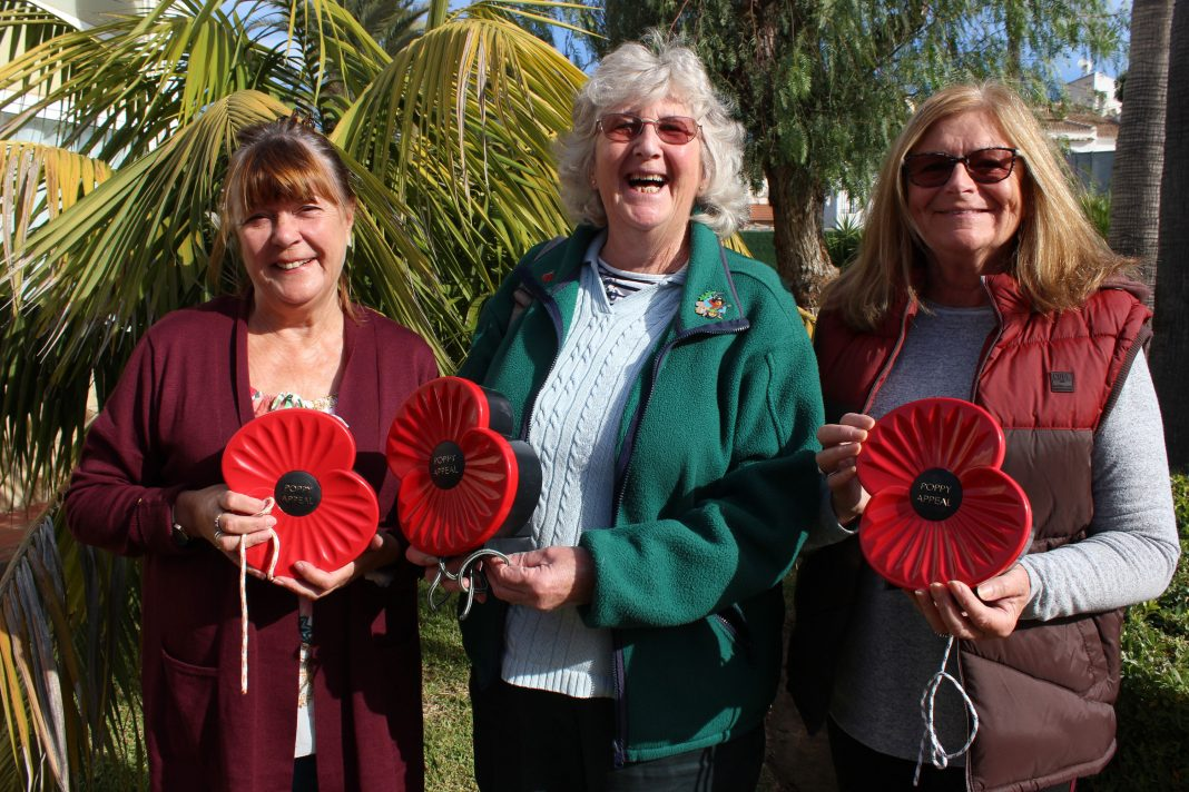 Anne O'Donnell, Sue Shatford and Maureen Jenkins