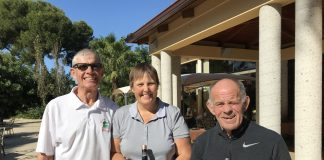 Picture from L to R: Mike Davies, Helen Beddows, Paddy O'Brien .