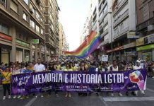 LGTB Pride Demonstration, last June, in Murcia