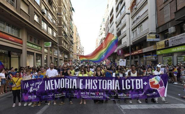 LGTB Pride Demonstration, last June, in Murcia