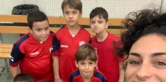 """Some of the children were having their first coaching lesson and game,"" said Marta,"