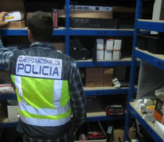 Illegal TV Supplier closed down by Spanish Police