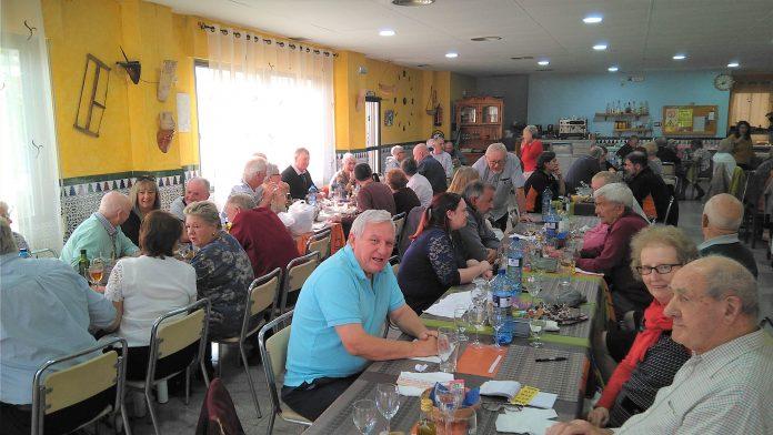 RNA Torrevieja Branch Socialise at Menu del Dia