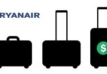 Ryanair Airline hand luggage charge illegal in Spain