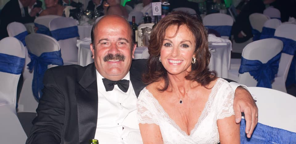 Thorne with wife Jill