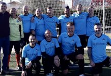 Orihuela Costa Veteranos battle hard in defeat