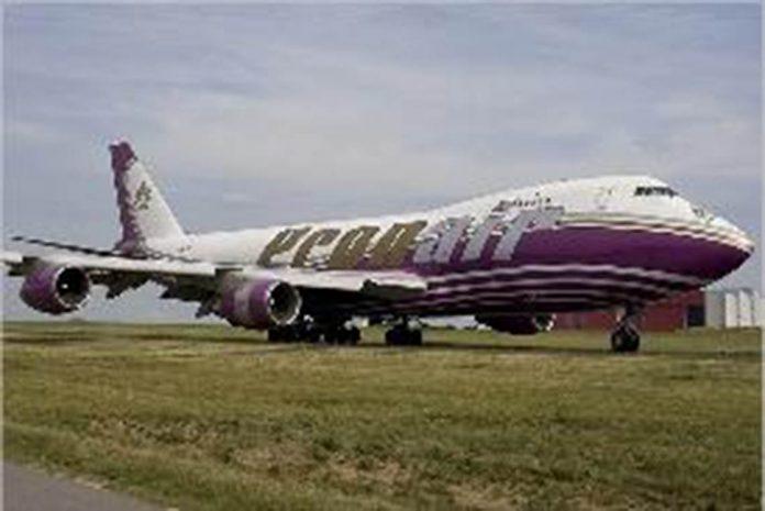 747 Jumbo jet abandoned at Valencia airport