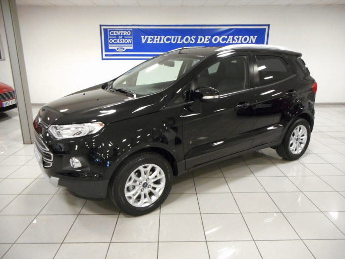 Second-hand vehicle for sale in Spain: Ford EcoSport Petrol Manual 2015 (000014)