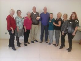 Campoverde Theatre Group Donate to Alzheimers Torrevieja