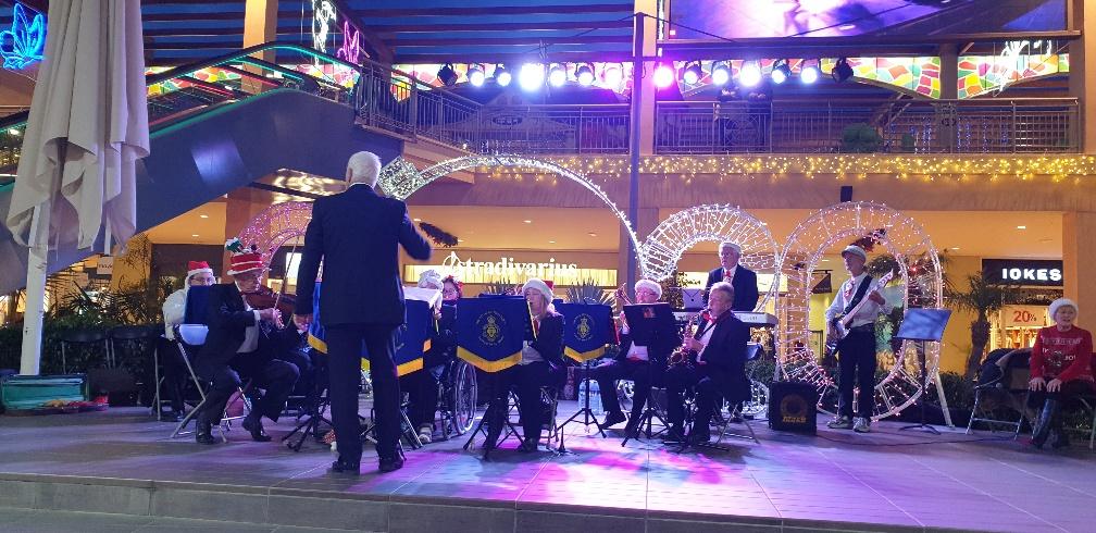 The Royal british Legion Band in Spain