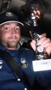 Kieran Wood: League captain of LMTCC.