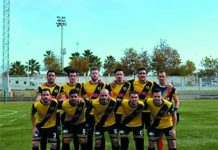 CF Popular Orihuela gained a 1-0 win against Alguena CF.