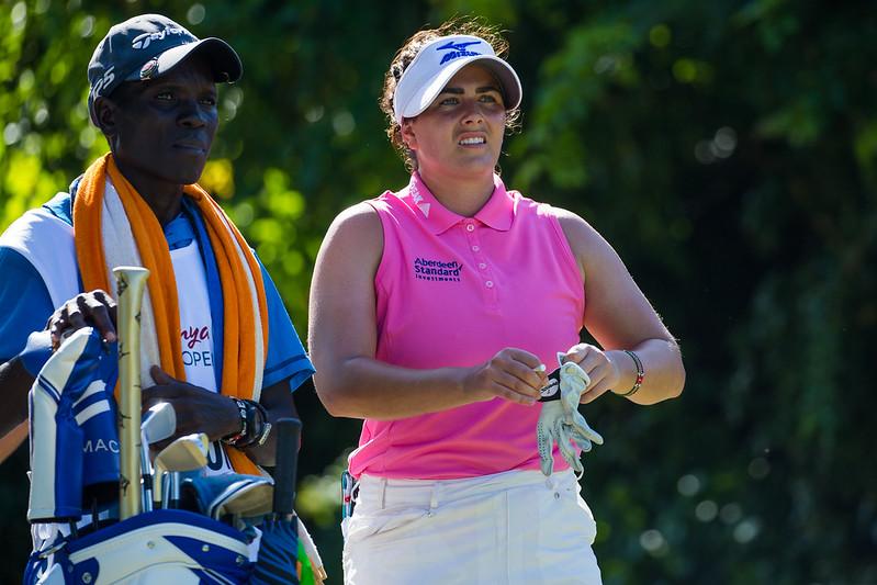 05/12/2019. Ladies European Tour 2019. Magical Kenya Ladies Open, Vipingo Ridge Golf Club, Kilifi County, Kenya. Dec 5-8 2019 Kelsey Macdonald of Scotland during the first round. Credit: Tristan Jones