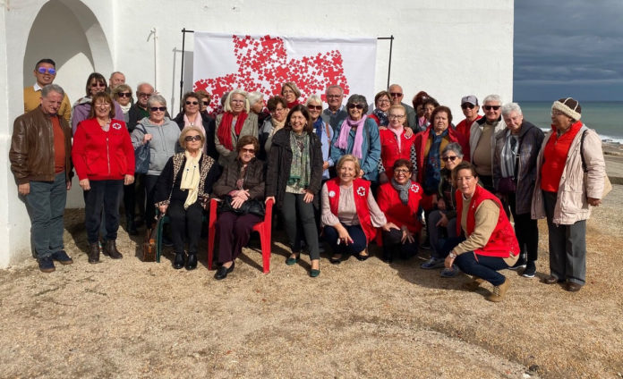 Mojácar' Red Cross Opens Aid Distribution Centre