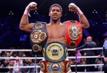 AJ: Regained the WBA, WBO and IBF world heavyweight titles.