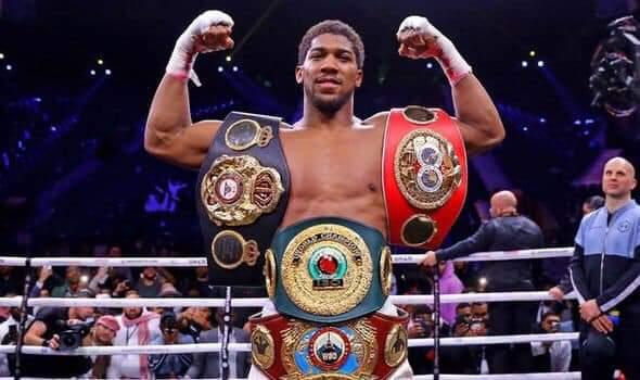 AJ: Regained the WBA, WBO and IBF world heavyweight titles.