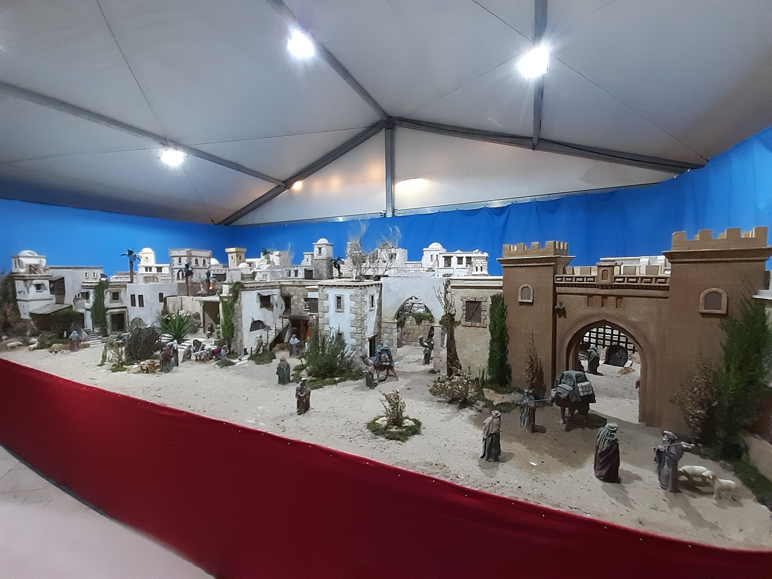 In San Fulgencio Village, the traditional Belen (Nativity Scene) was unveiled