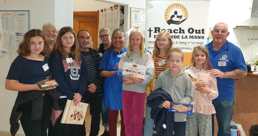 """Scandinavian School """"Reach Out"""" to the homeless"""