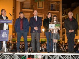 Orihuela turns on its Christmas Lights