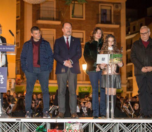 Orihuela turns on its Christmas Lights