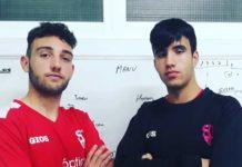 Sporting Guardamar youth prodigies Alfredo Garcia and Felipe Andreu, 2nd Regional debutants in December.