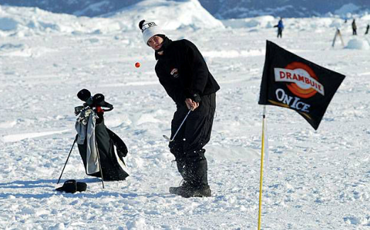 DO THE GREENLANDERS complain when there is no grass on their course?