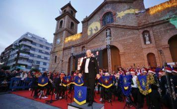 Torrevieja carols in the square
