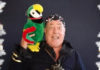 Long John Silver, and his faithful old bird POLLY