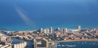 October drop of 59% in La Manga Tourism