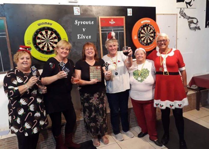 Winners -Sprouts: Ann Bartlett, Simone de Lacy, Sue Bradleys Runners-Up -Elves: June Hawkins, Pam Horton, Sue Christie