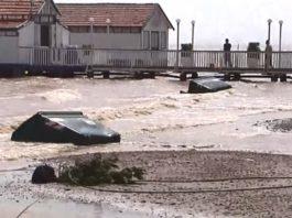 Flooding on the Mar Menor