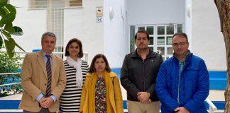 Andalucía's Health Directorate visits Mojácar