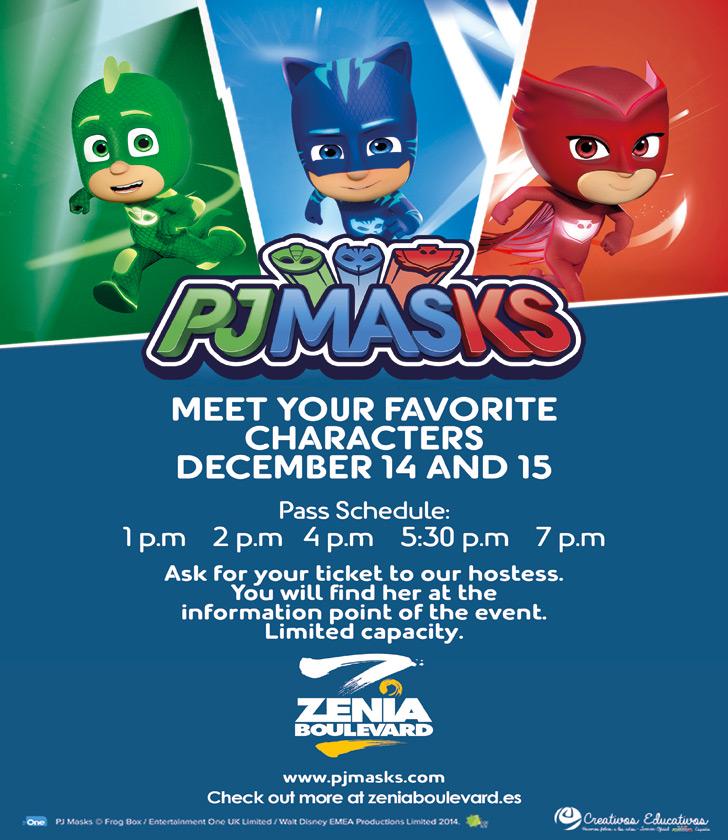 PJ Masks to visit La Zenia Boulevard