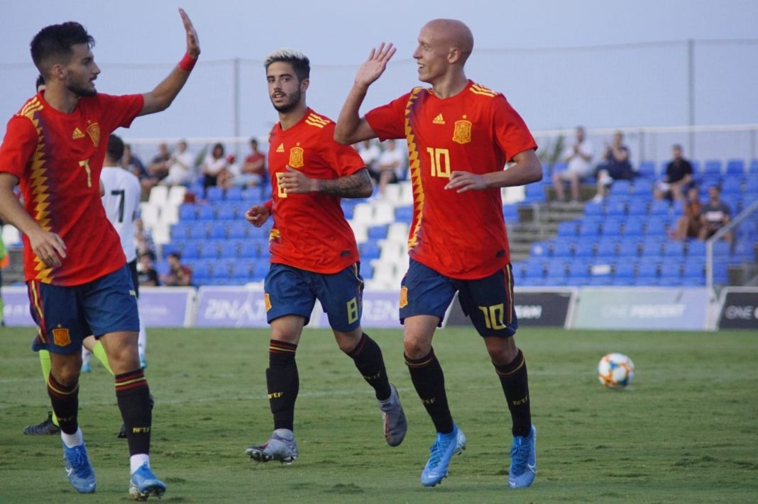 Spain Under 19 Squad bring year to a close at Pinatar Arena