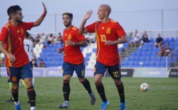 Spain Under 19 Squad bring year to a close at Pinatar Arena