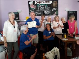 Quesada Ladies Club have donated over 800 Euro in the last year