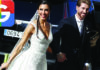 The wedding of Real Madrid footballer Sergio Ramos to Pilar Rubio as at numbr 10