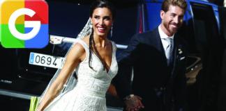 The wedding of Real Madrid footballer Sergio Ramos to Pilar Rubio as at numbr 10