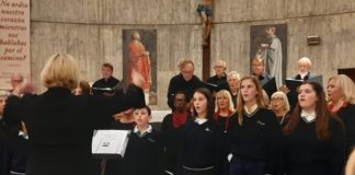 Andante International Choir and ELIS Choir at San Pedro y San Pablo Church in Torrevieja