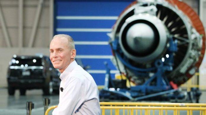 Boeing has sacked chief executive, Dennis Muilenburg,