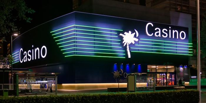 The Casino Mediterraneo, Benidorm, can be found near the beautiful port of Benidorm's marina