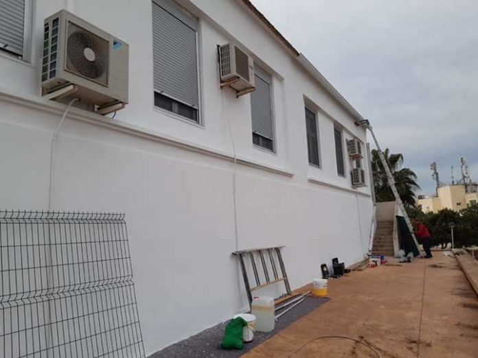 Improvement works to Rojales Municipal Infant School