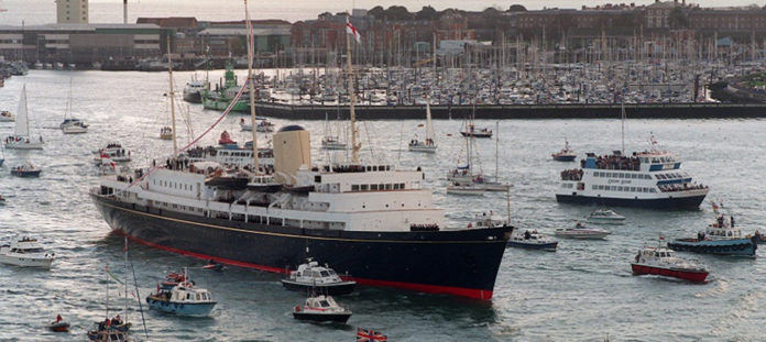 £50m has been left to the British Royal Family - to go towards a scheme to commission a new Royal yacht.
