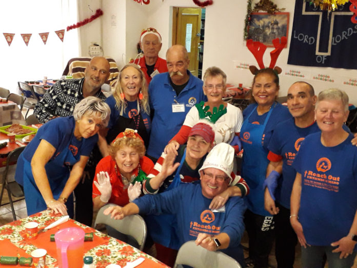 The Reach Out team on Christmas Day