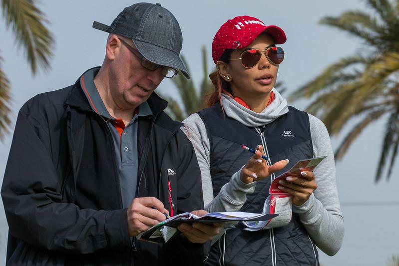 22/01/2020. Ladies European Tour. Qualifying School, Final Stage. Real Golf La Manga Club, Spain, Jan 22-26 2020. Sharmila Nicollet of India during the first round. Credit: Tristan Jones.